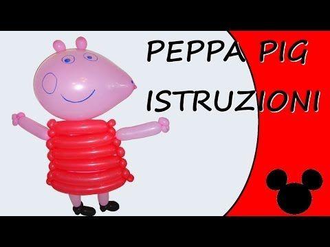 Palloncini modellabili - Peppa Pig Istruzioni - Cartoni Animati e Fumetti