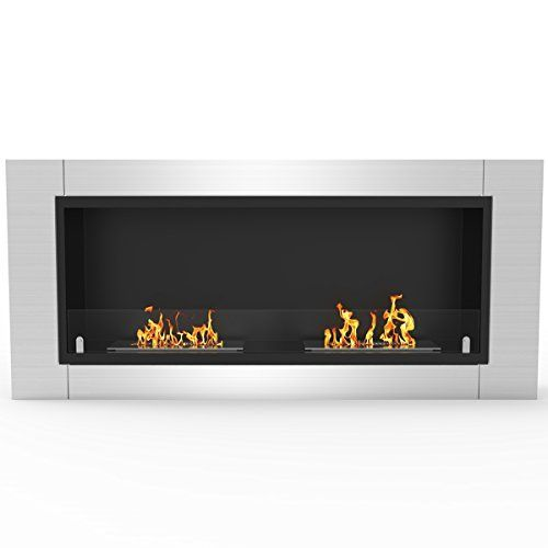 Regal Flame Ventless Built In Wall Recessed Bio Ethanol Wall