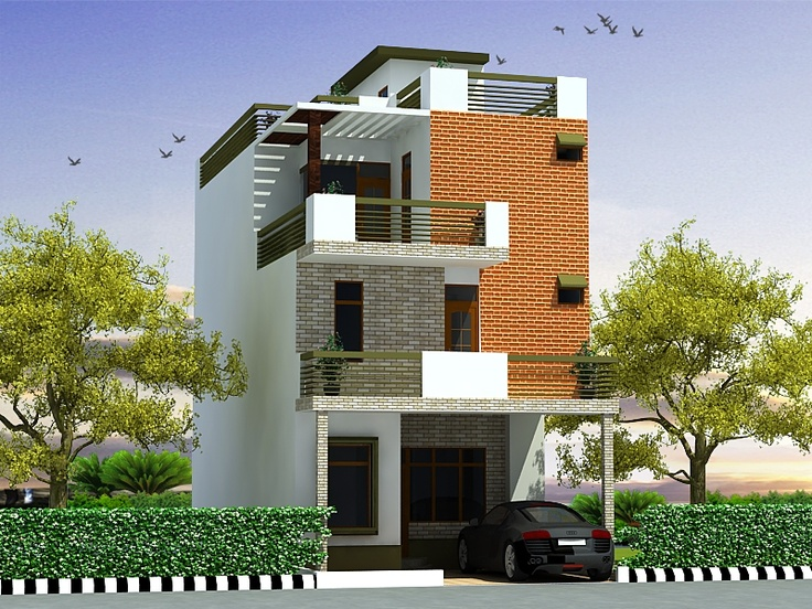 3 Floor House Elevation Designs Andhra : Duplex floors house design click on this link http