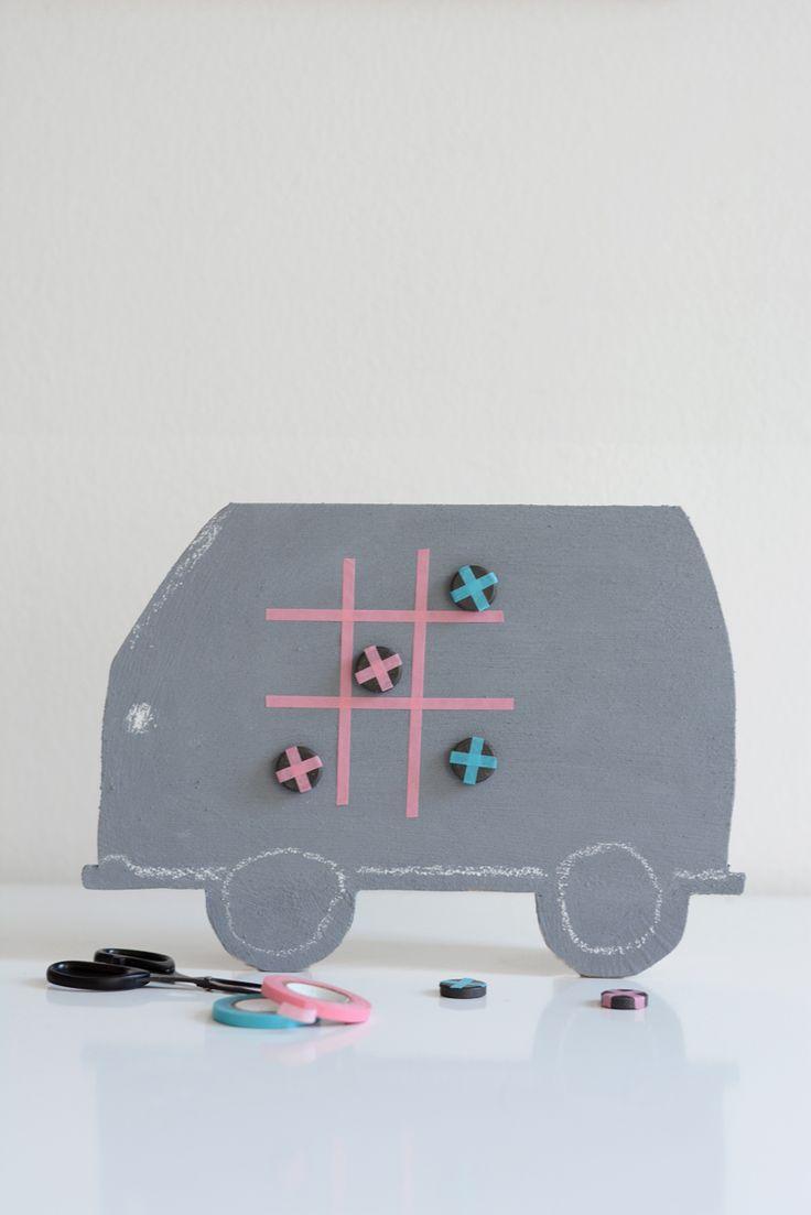 DIY For Kids: Spieltafel Für Lange Autofahrten (Sponsored By Volkswagen)