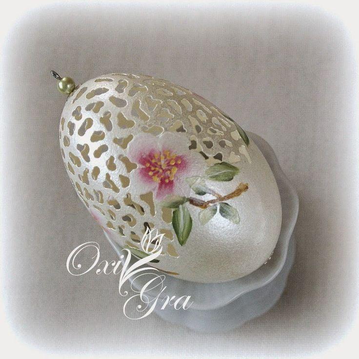 OxiGra Pisanki egg art. Exquisite