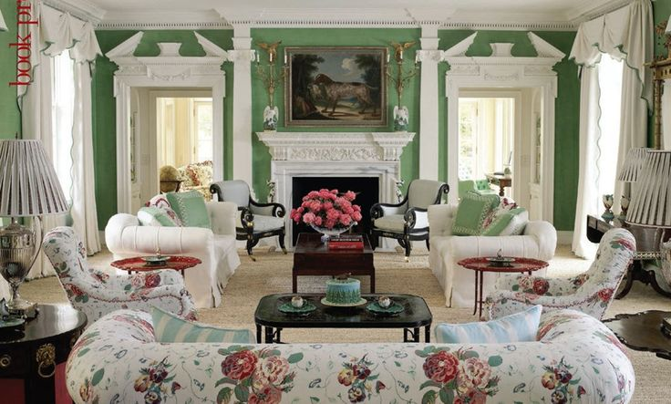 17 best images about chintz always stylish on pinterest for Chintz couch