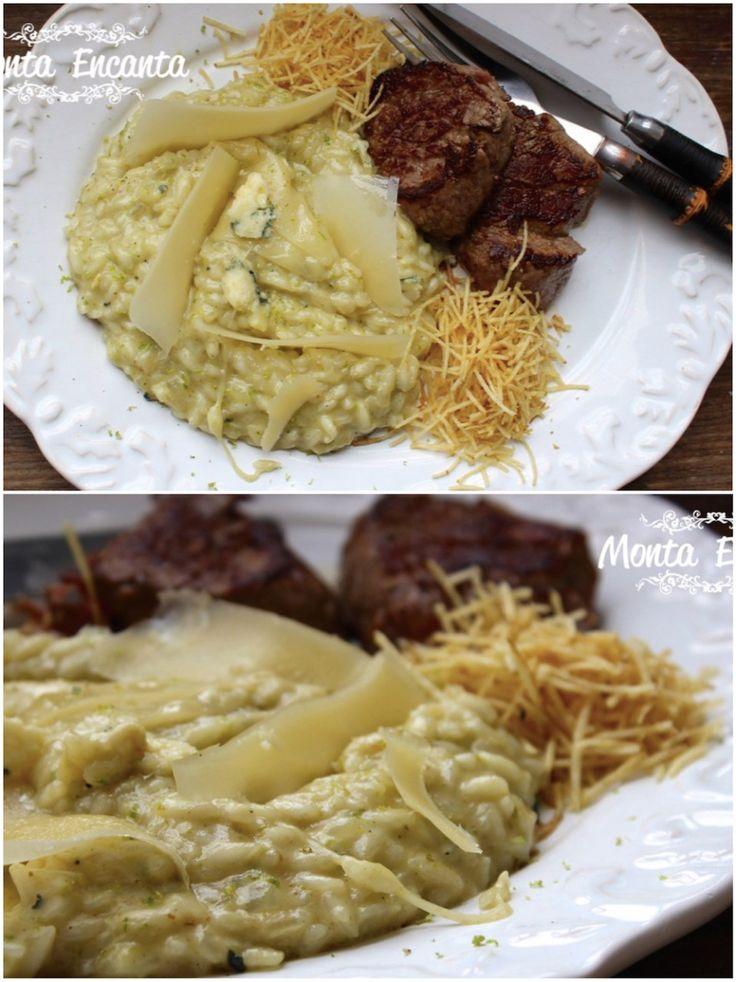 Se você é fã de queijo e está procurando uma receita de risoto para acompanhar a carne. Acaba de encontrar Risoto de Gorgonzola, surpreende no sabor marcante e equilibrado pelo queijo com limão! Uma tentação