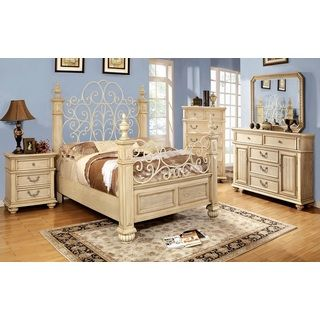 39 waldenburg 39 luxurious antique white 5 piece queen bedroom - Bedroom furniture set online shopping ...