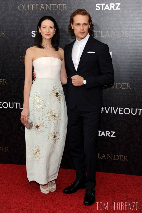 "Caitriona Balfe and Sam Heughan attend the ""Outlander"" Season 2 Premiere in New York City. Ooops, they did it again. Whenever we have criticisms for"