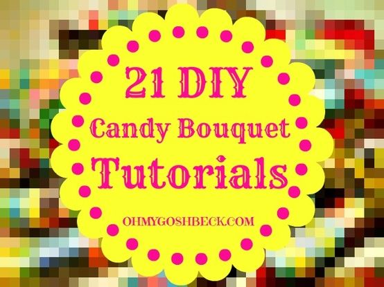 candy+and+soda+bouquets   Soda Candy Bouquets