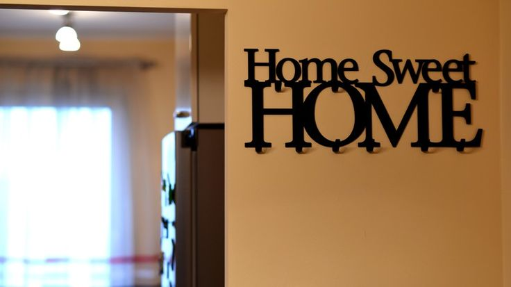 Wieszak na ubrania Home Sweet Home
