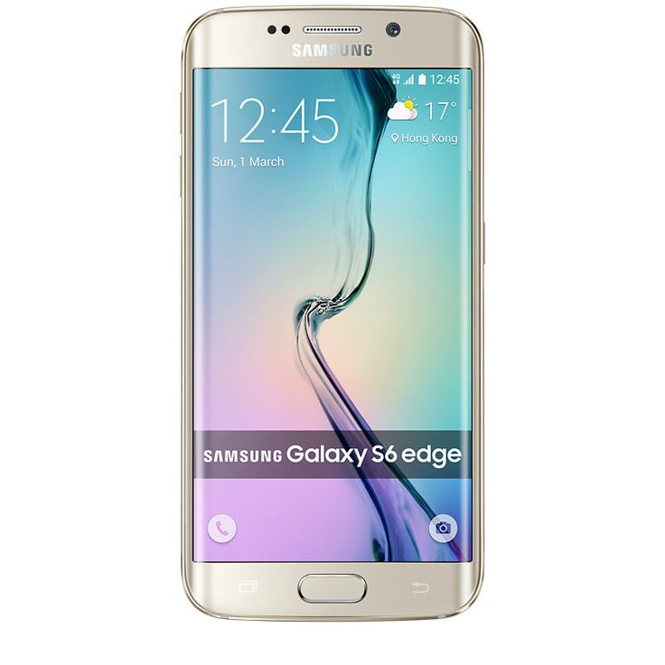 Image of Samsung Galaxy S6 edge G925F 64GB SIM FREE / UNLOCKED - Gold