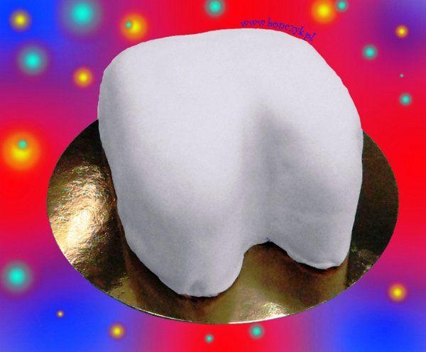 #tooth, #cake, #zab, #tort, #toothcake, #zabtort, www.bonczyk.pl