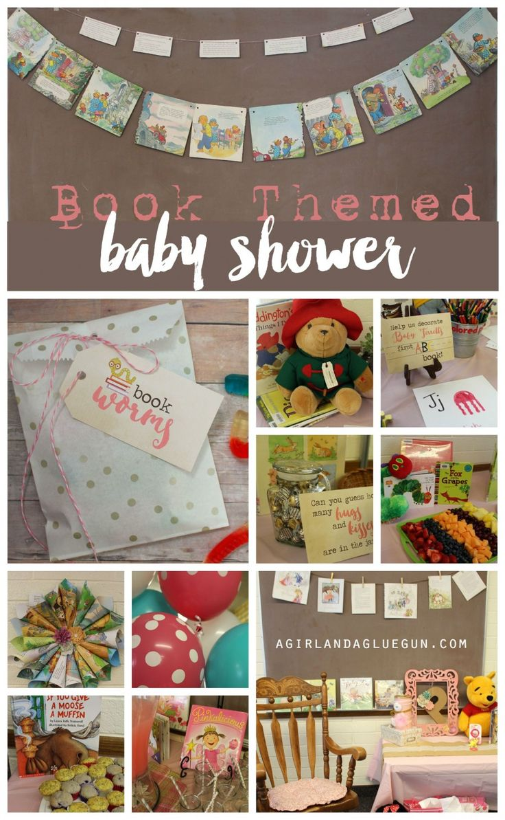 Book themed Baby shower !!! So clever in so many ways!