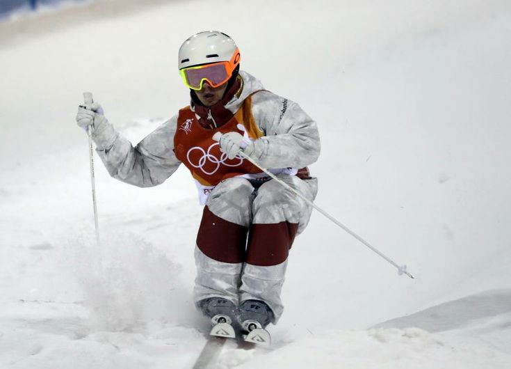 Image result for mikael kingsbury gold medal run