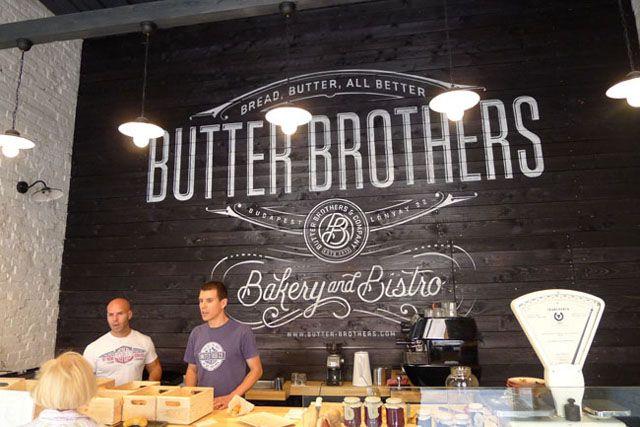 Butter Brothers 1093 Budapest, Lónyay u 22. Nyitva H-P 10:00 - 18:00