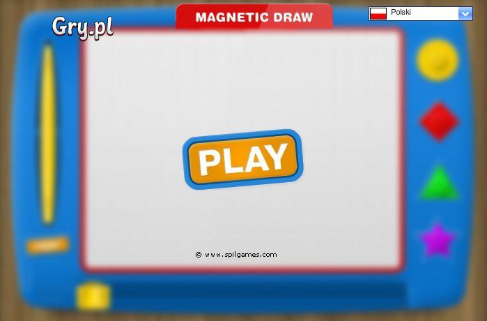 magnetyczne rysowanie