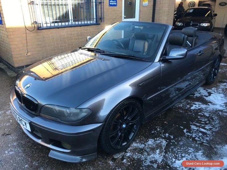 BMW 320d M Sport Convertible #bmw #320 #forsale #unitedkingdom