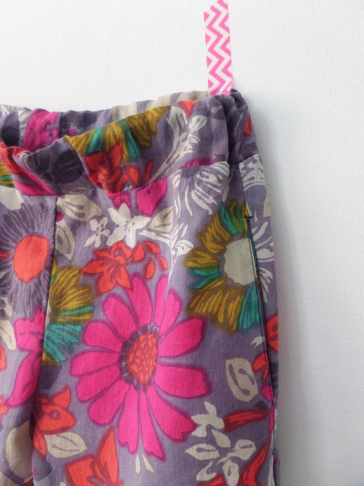 BARABASCA MADE:   pocket, sewing description