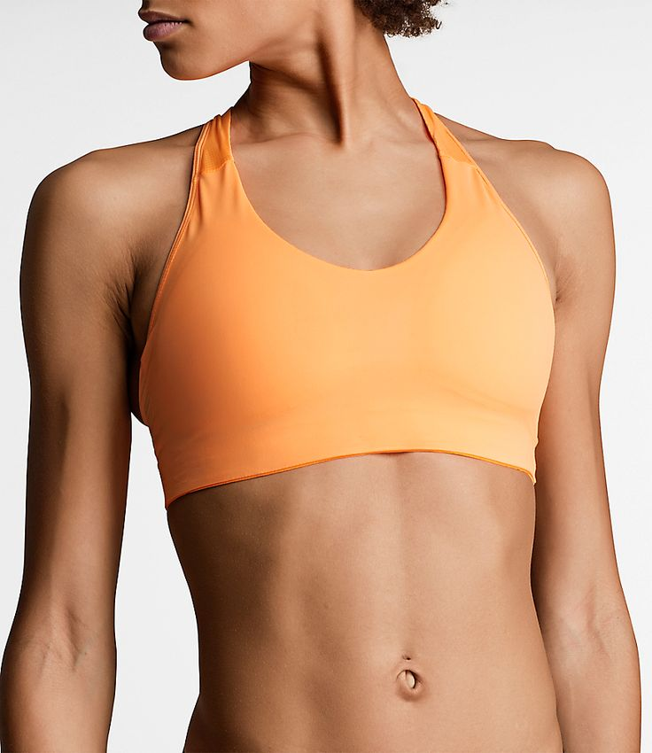 BB Solid High Support SPORT BRA orange pop  Orange you glad you stopped to shop Björn Borg today? When you want to stand out there's no clearer choice than our Solid Sport Bra in Orange Pop. Color your world in this racerback sport top made from wicking hydro pro material ideal for high-impact sports like running karate and of course tennis. Moulded cups plus a mesh lining at back provide maximum support without compromising freedom of movement. You glow girl! Pack of one. 80% polyamide 20%…