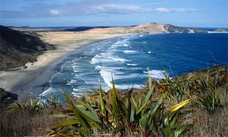 90 Mile Beach - the tip of the North Island