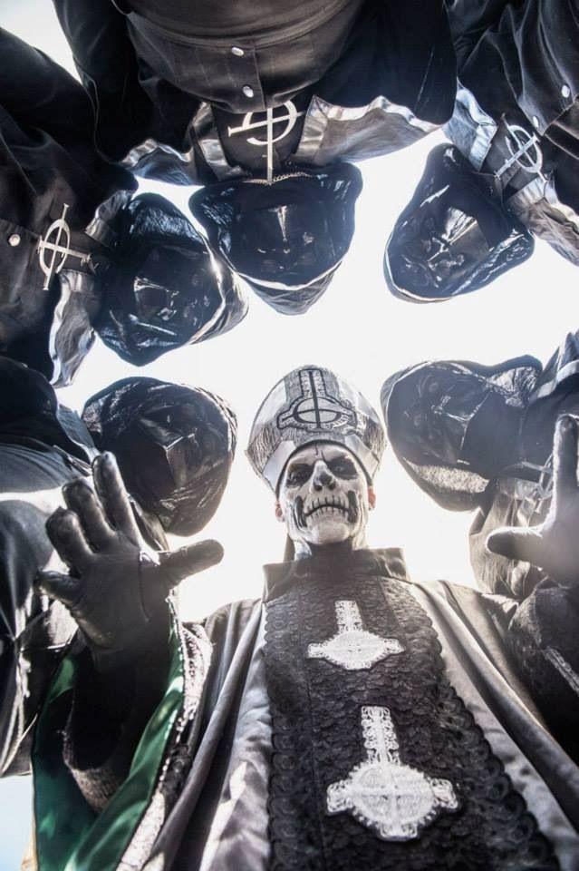 Ghost B.C | Papa Emeritus | Nameless Ghoul