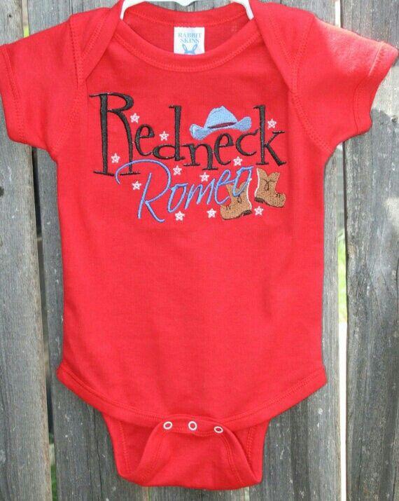 Redneck Romeo onsie