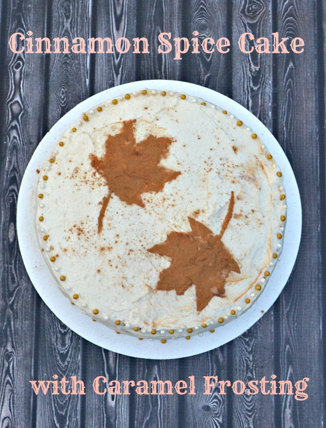 LorAnn Oils | Recipe for Cinnamon Spice Cake with Caramel Frosting