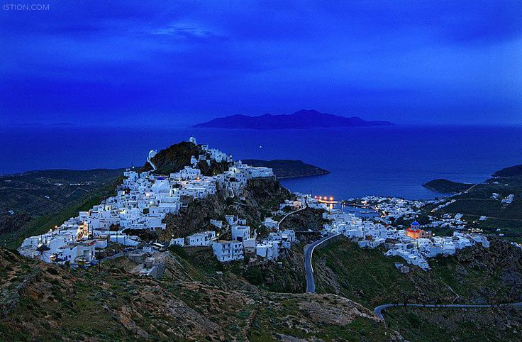 Serifos island in Cyclades...