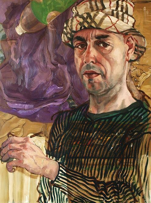 Harry Emans (Dutch: 1955) -  Self Portrait
