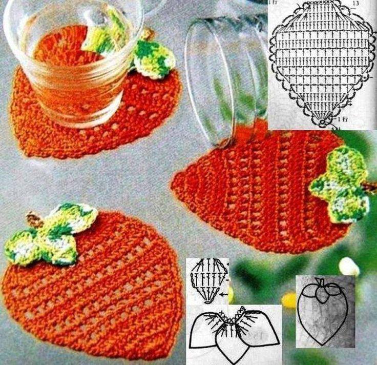 Lujo Los Patrones De Crochet Libre De Cocina Modelo - Manta de Tejer ...