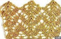 Patrón #1080: Encaje Ending a Crochet | CTejidas [Crochet y Dos Agujas]