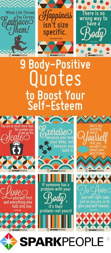 9 Body-Positive Quotes to Boost Your Self-Esteem