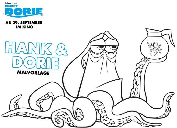 Filmpreview zu Disneys Findet Dorie mit Verlosung sowie kostenloser Dorie Malvorlagen und Wochenplan / Essensplan zum herunterladen
