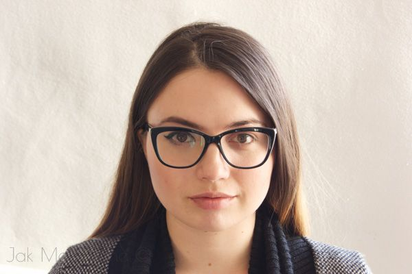 Makijaż a okulary // makeup for glasses-wearers