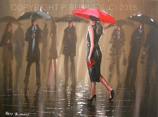 26 best legs images on pinterest umbrellas rain and for Painting red umbrella