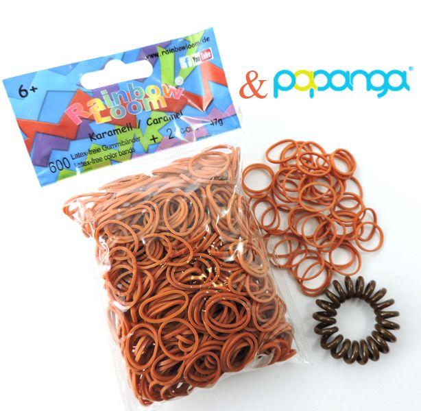 Papanga Haargummi Chocolate - das Original