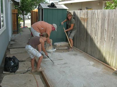 How to build a bocce court- This will be a must-do when we move back to Kentucky.  I love Bocce Ball!