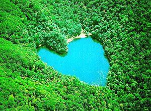 Heart♡ Lake   Hokkaido