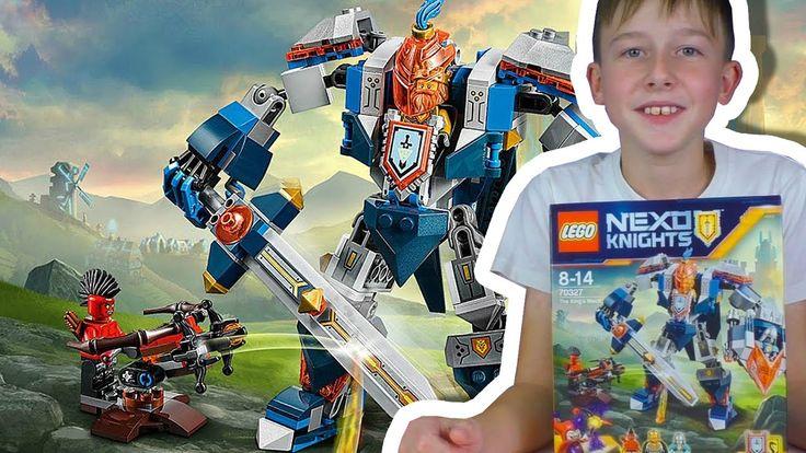 Lego Nexo Knights / КОРОЛЕВСКИЙ РОБОТ БРОНЯ / 70327