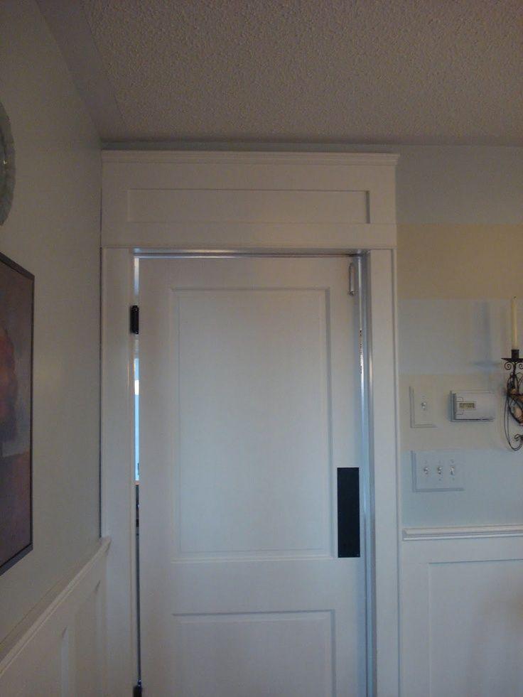 Faux Transom Door Faux Transom Above Door In 2019