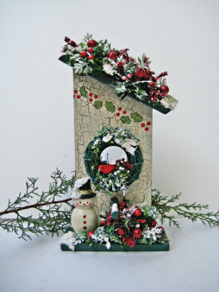Christmas Decorations Bird Houses | www.indiepedia.org