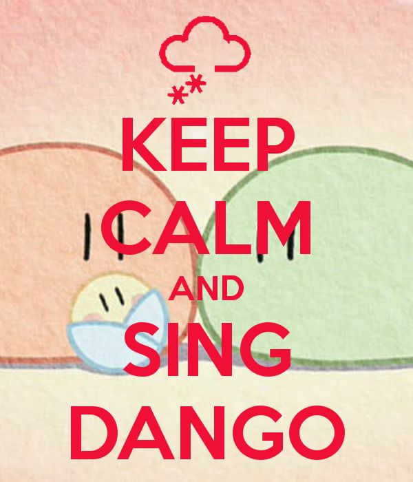 Awes. Dango reminds me of clannad after story. :'(