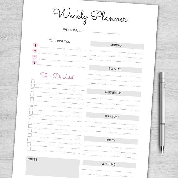 337 best Planners Pages images on Pinterest Planner stickers - professional agendas