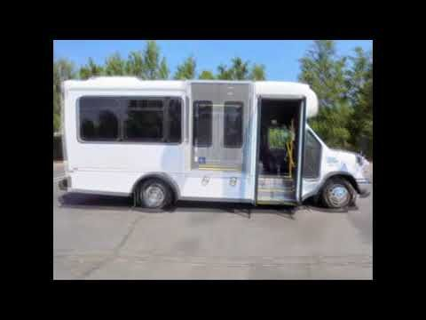 Used Buses For Sale in Virginia | Call 844-612-7122 | 2010 Ford E450 Non-CDL Wheelchair Shuttle Bus