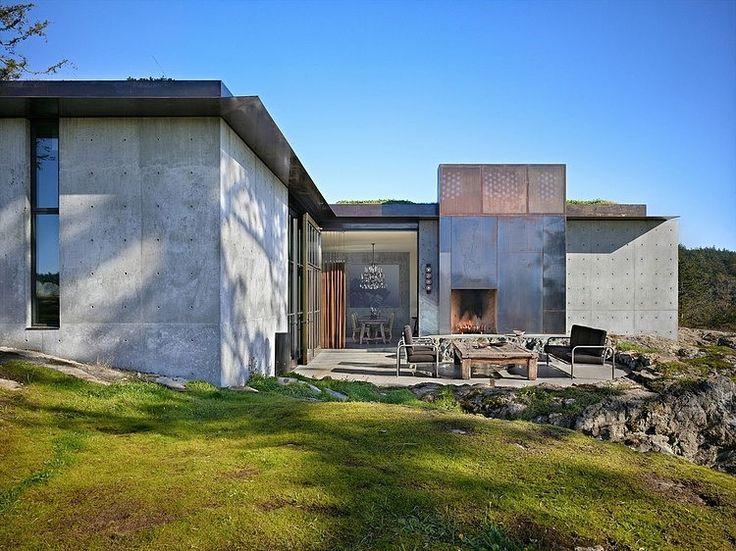 The Pierre. San Juan Islands. Washington State. 2010. Olson Kundig  Architects.