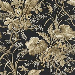 Thibaut clearance wallpaper pattern number T4834 Hudson Black #T4834 #HudsonBlack #thibaut #thibautwallpaper #wallpaper #blackwallpaper #floralwallpaper #black #interiorwallcovering #wallcovering #wall #blackandgold #gold #floral