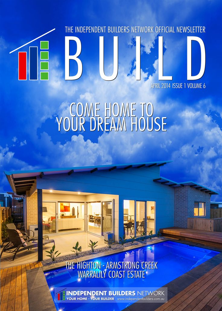 A cover for Build, the IBN's official newsletter.