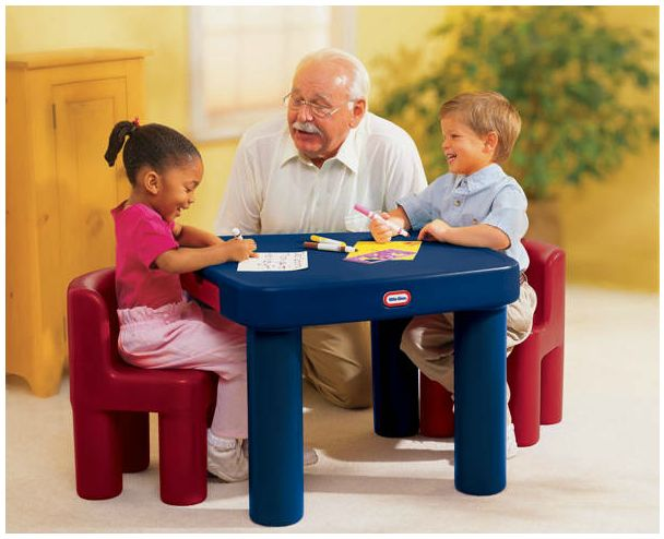 Little Tikes Large Table  Chairs Review  Giveaway  Kids