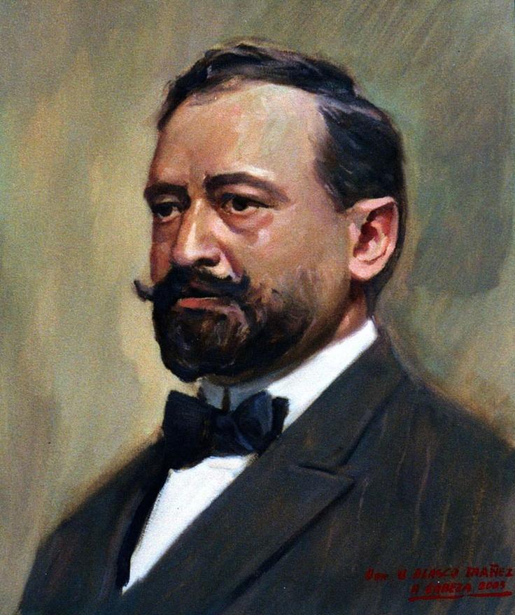 Vicente Blasco Ibañez por Alejandro Cabeza Casa Museo Vicente Blasco Ibañez