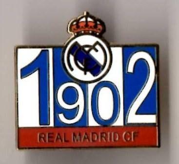 1902 Real Madrid Pin Badge, £2.99