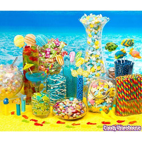 Beach-Candy-Buffet- love the sharks