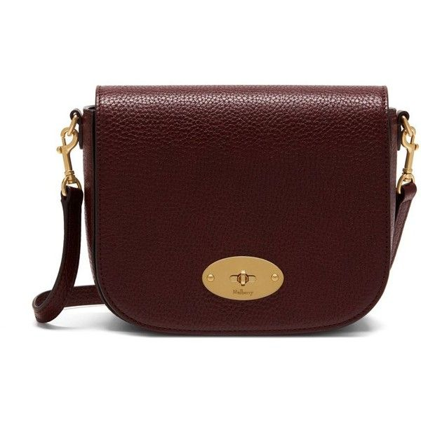 Mulberry Small Darley Satchel (9612455 BYR) ❤ liked on Polyvore featuring bags, handbags, oxblood, mini purse, leather satchel, leather handbags, leather satchel purse and red purse