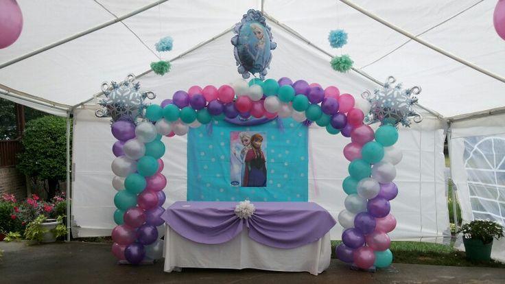 Arcos en globos on Pinterest | Balloon Arch, Arches and Rainbow ...